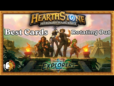 Hearthstone: Best League Of Explorers Cards
