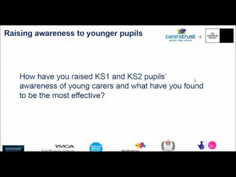 Carers Trust & The Children's Society: YCiS, identifying & supporting young carers in Primary school