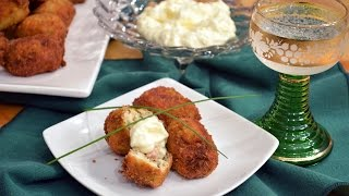Chicken And Ham Croquettes