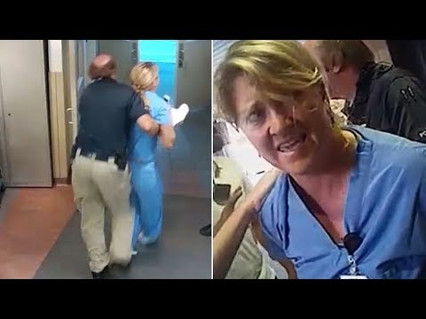 Police Arrest Nurse in Utah For Refusing To Draw Blood from Unconscious Patient (REACTION)