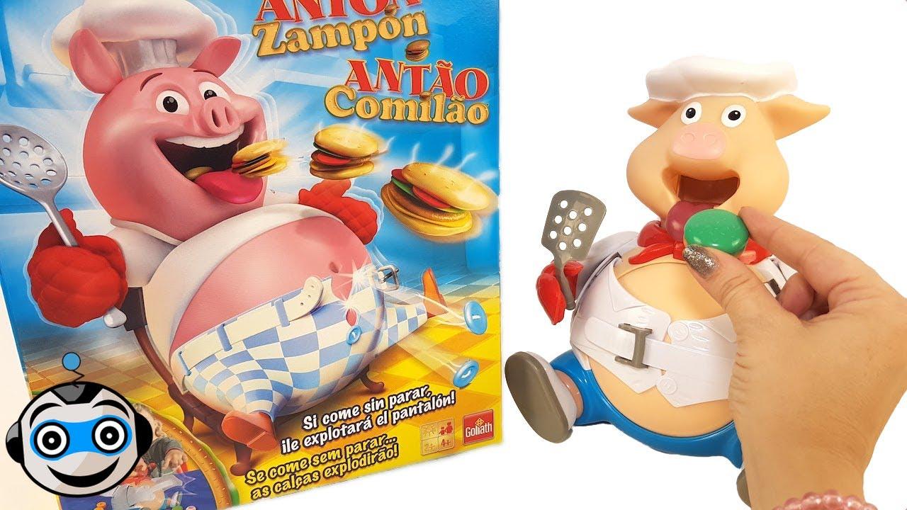 Antón Zampón come Hamburguesas a mogollón