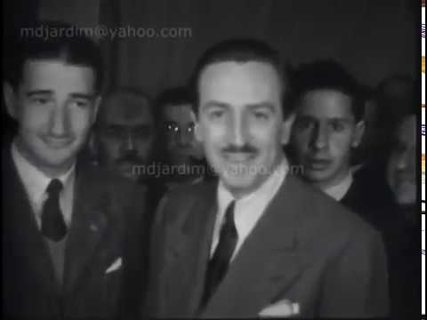 1941 - Walt Disney en Montevideo (Audio original Radio El Espectador)