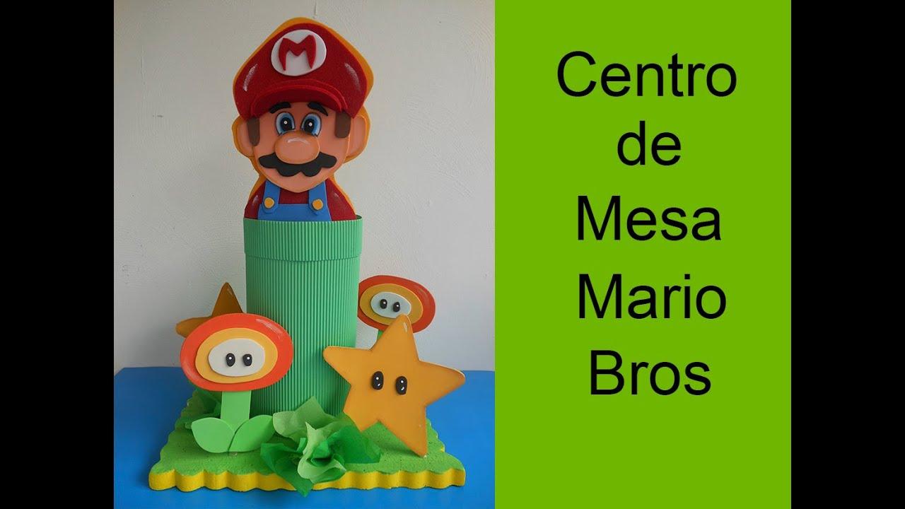 Centros De Mesa Mario Bros