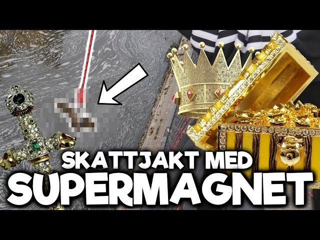 Skattjakt Med Supermagnet - Magnetfiske