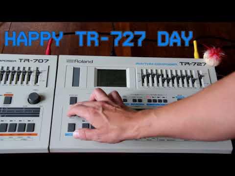 Happy Roland TR-727 Day!