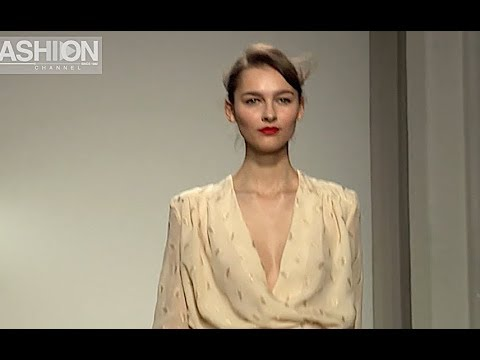 MILA SCHON Fall 2012 2013 Milan - Fashion Channel
