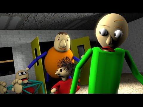 [SFM BALDI] Baldi's Basic In Learning REVENGE OF THE BULLY CAPTURES BALDI  & PLAYTIME (Animation)