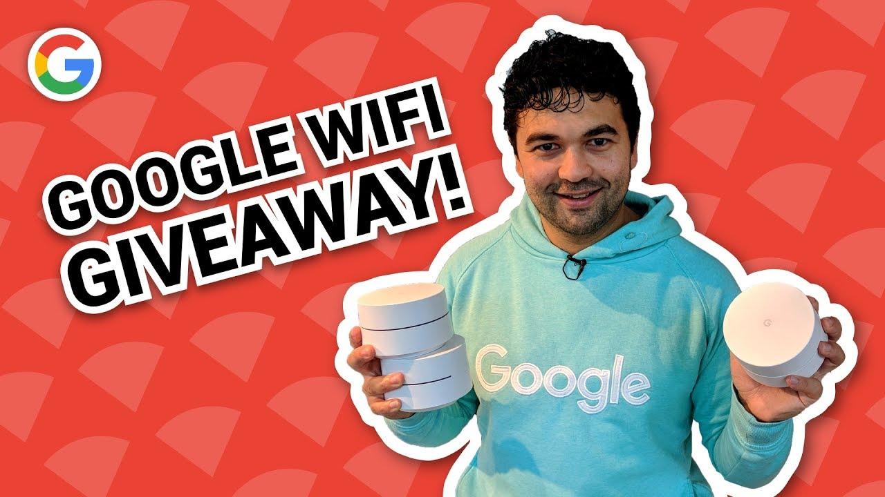 NIEUW: GOOGLE WIFI! UNBOXING + GIVEAWAY! - Vraag het Google #40