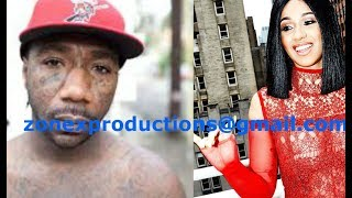 Cardi B GETS A WARNING from WestCoast OG Boskoe 100 not return to LA due to crips after her