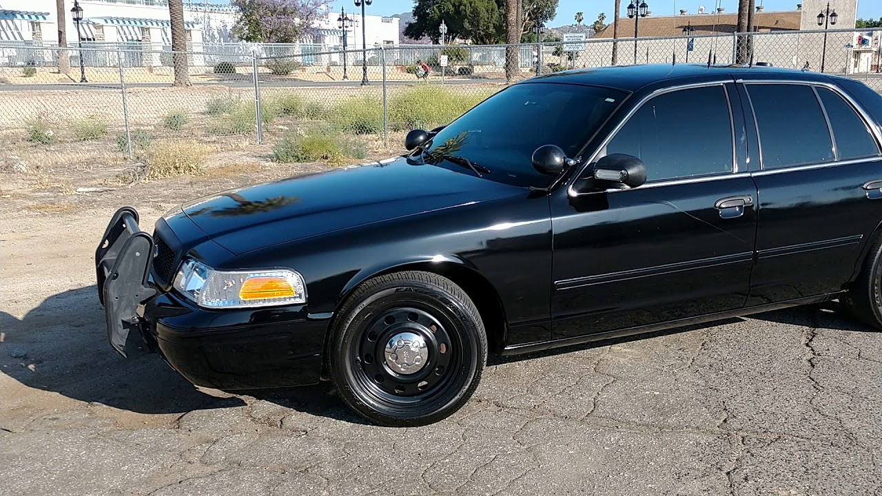 Ford Interceptor For Sale >> 2011 FORD CROWN VICTORIA POLICE INTERCEPTOR FOR SALE