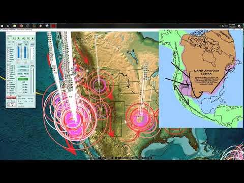 7/15/2019 -- Major seismic unrest underway -- GLOBAL + West Coast California UPDATE - 동영상