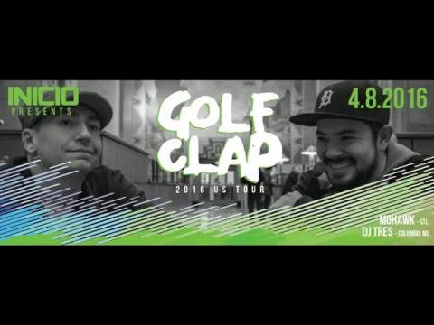 Golf Clap - Live @ Upstairs Lounge (Inicio - St.Louis, MO - 2016-04-08)