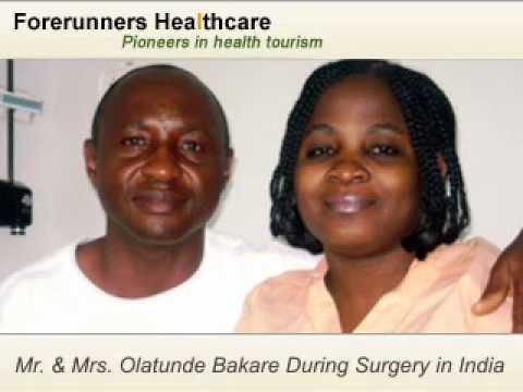 Mrs Bakare- Ovarian Cyst Surgery India