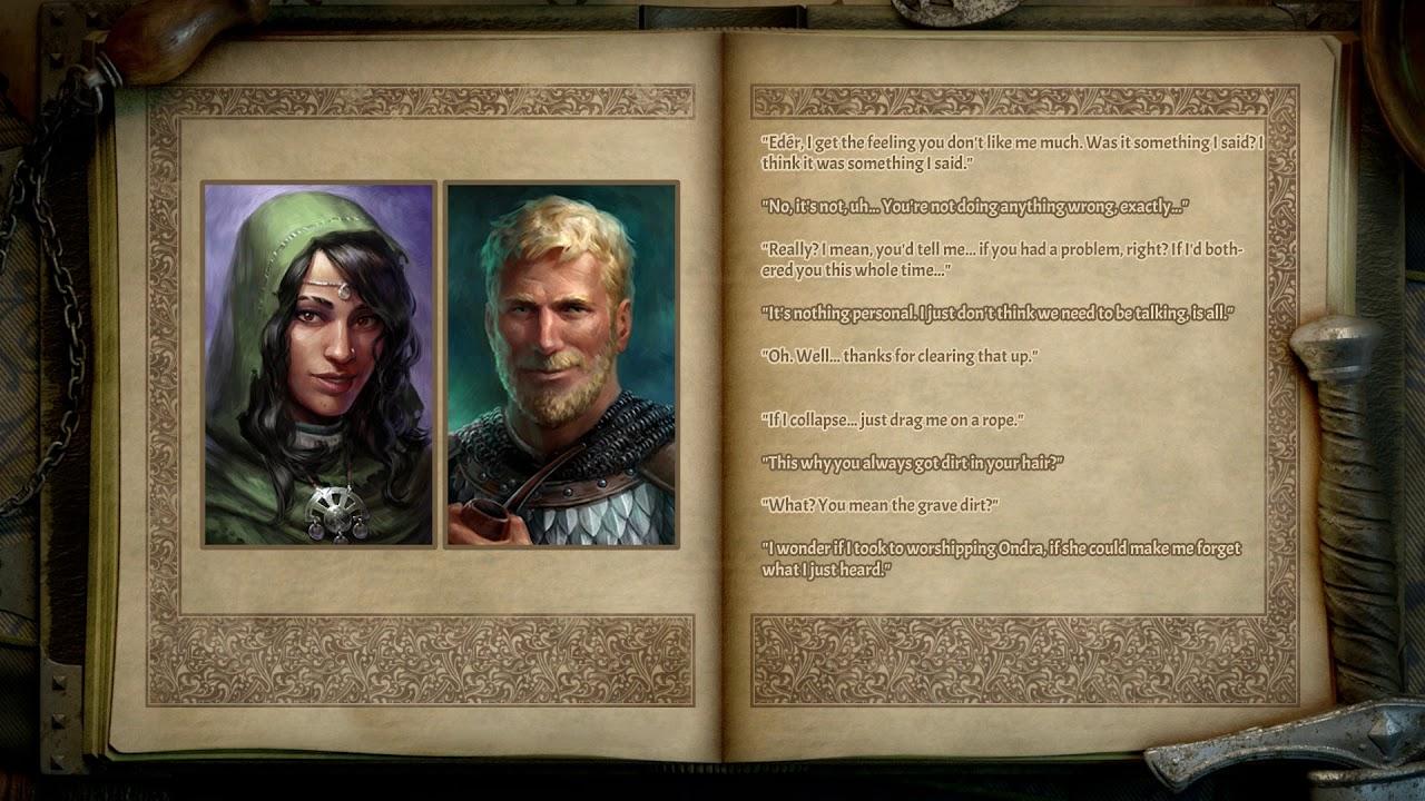 Eder & Xoti Relationship | Deadfire  Pillars of Eternity II