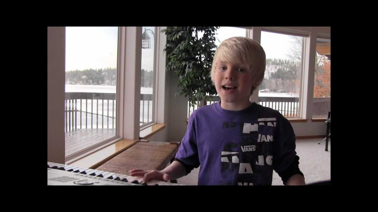 Adele — Someone Like You Cover by 10 year old Carson Lueders