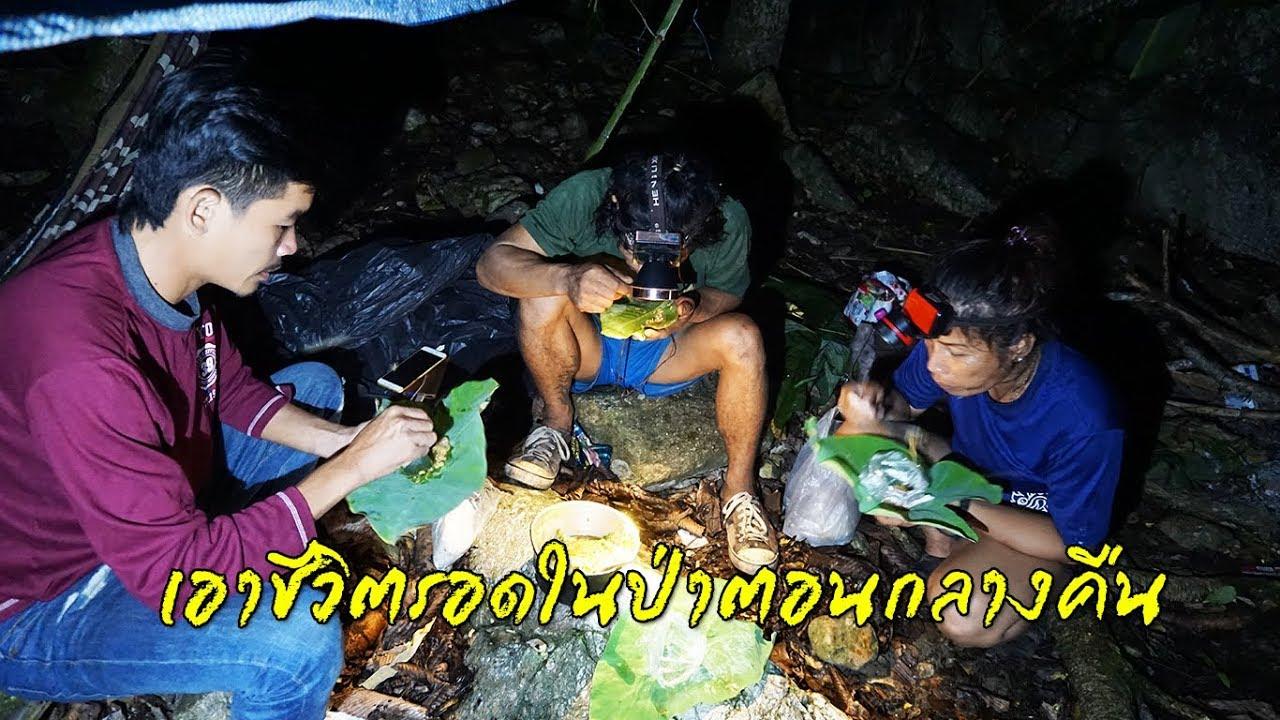 เข้าป่าเอาชีวิตรอด In The Jungle Ep.7 ใช้ชีวิตในป่าหากินตอนกลางคืน