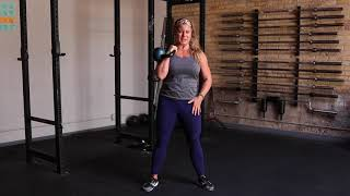 Unapologetically Powerful Demo: Kettlebell Offset Curtsy Lunge