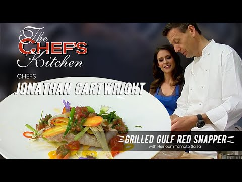 Jonathan Cartwright - Grilled Gulf Snapper with Heirloom Tomato Salad