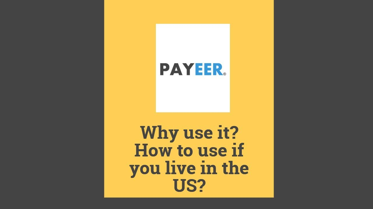 Why Payeer And How To Exchange Usd Bitcoin