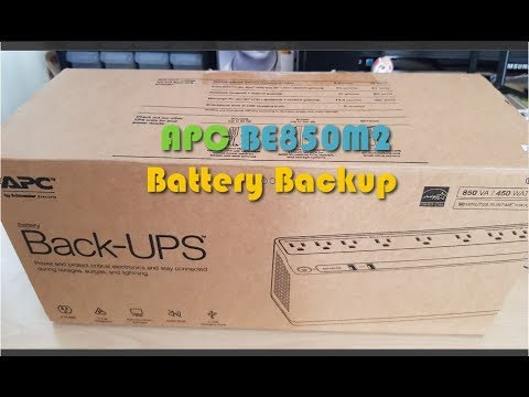 APC 850VA UPS Battery Backup & Surge Protector Review