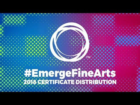 #EmergeFineArts | 2018 Awards & Certificates