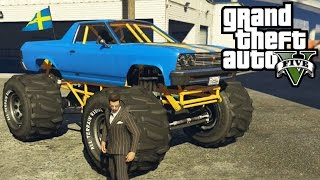 GTA 5 - Cheval Marshall Monster Truck | How To Get It & First Person Gameplay! (GTA V Xbox One)