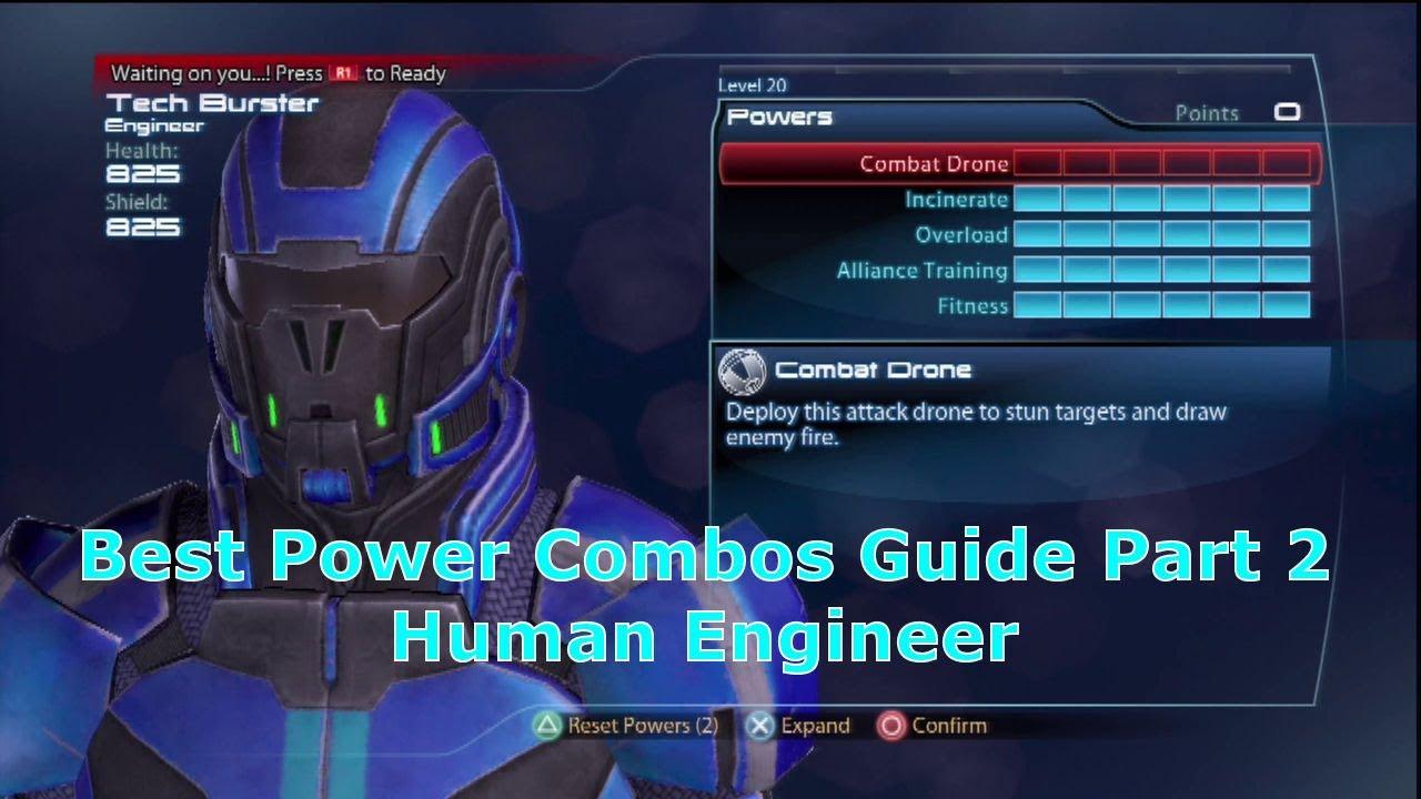 Human Engineer Tech Burst & Fire Explosion Best Power Combos Guide ...