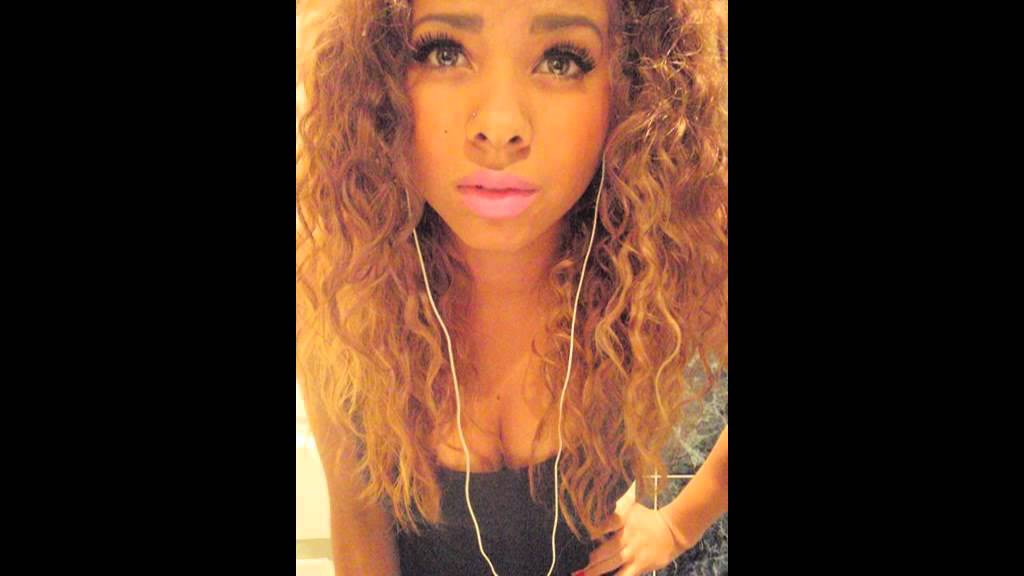 Black And Mixed Girls With Blonde Hair Youtube