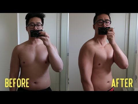 CHONNY'S 1 month body transformation