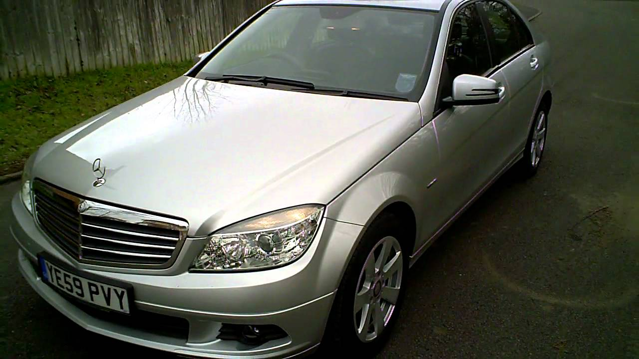 2009 59 mercedes c220 cdi se 2 2 diesel blueefficiency auto youtube. Black Bedroom Furniture Sets. Home Design Ideas