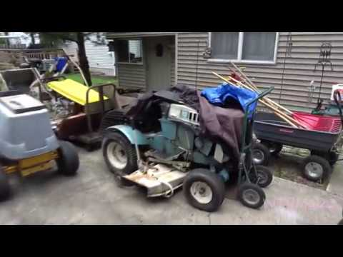 Sears tractors, SS14 Mower decks and mule drive