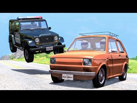 Lucky Guys #4 - BeamNG Drive Crashes, Fails, Near Misses, Funny Moments