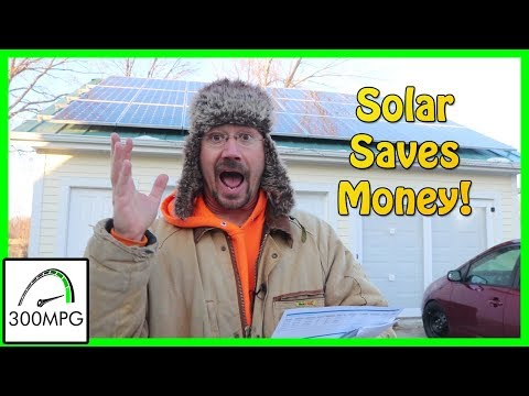 Save Money with Solar (Nov. Electric Bill)