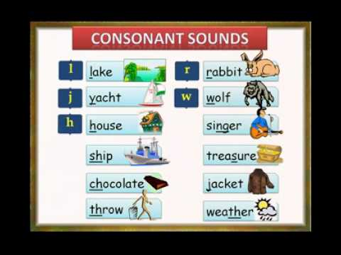 Engish Phonetics Pronunciation Consonants  Sounds.flv