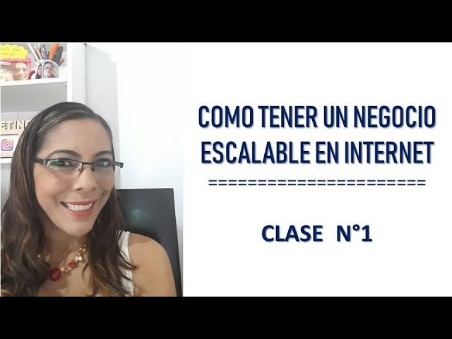 MARKETING ONLINE - COMO EMPEZAR UN NEGOCIO ESCALABLE EN INTERNET