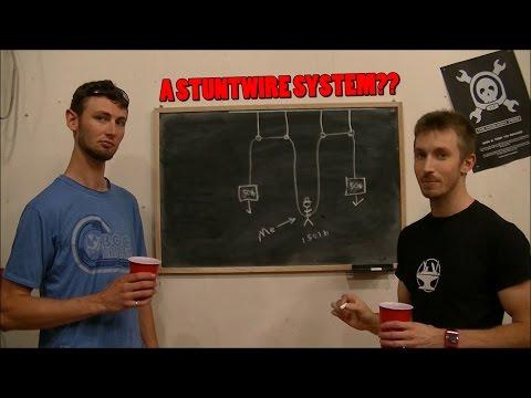 DIY Stunt Wire System -- PART 1/4