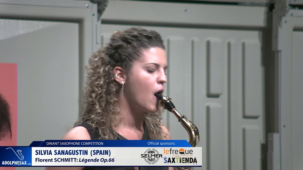 Silvia Sanagustin (Spain) - Legende Op 66 by Florent Schmitt (Dinant 2019)