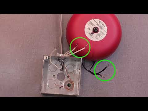how to wire a potter vsr flow switch to a bell youtube Converter Wiring Diagram
