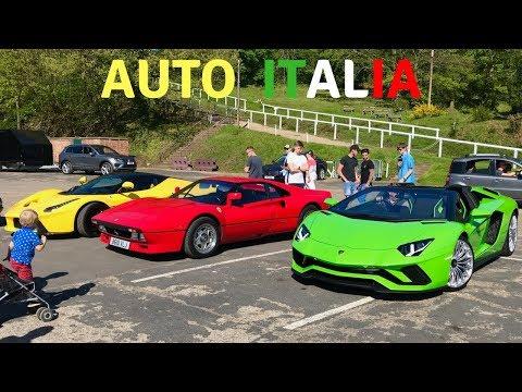 Italia Car Day 2018 (Brooklands) UK & London Supercar Spotting - Stavros969