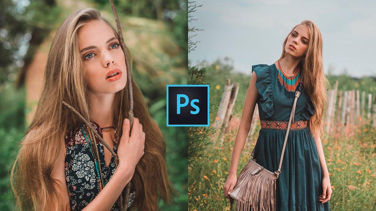 Pro Orange Color Grading | Photoshop Tutorial