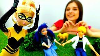 ToyClub шоу - Маринетт и Эдриан на свидании. Куклы Леди Баг