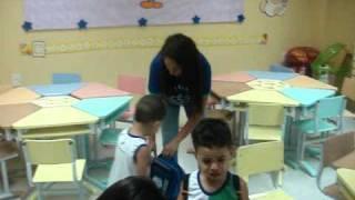 1º dia de aula no Maternal