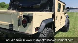Custom Duramax Ex Military Am General M998 Humvee / Hmmwv For Sale Midwest Military...