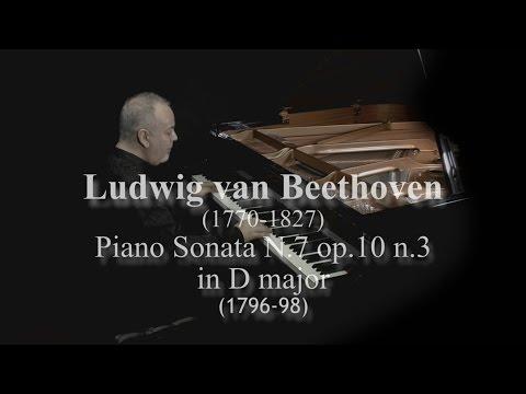 L. van Beethoven Sonata N.7 in D major op.10 n.3 by David Ezra Okonsar