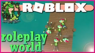 The Sally Gang | ROBLOX ROLEPLAY WORLD | by ObliviousHD | Ben and Dad | SallyGreenGamer
