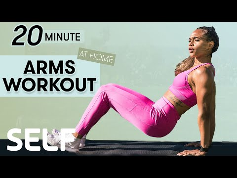 20-Minute Total Arm Workout | Sweat with SELF | SELF