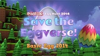 Roblox Egg Hunt 2014: How to get Basic Egg