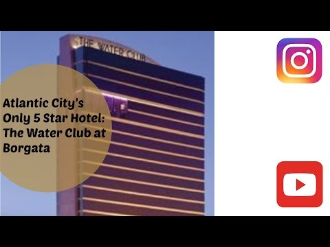 The Water Club at Borgata Atlantic City Room Tour
