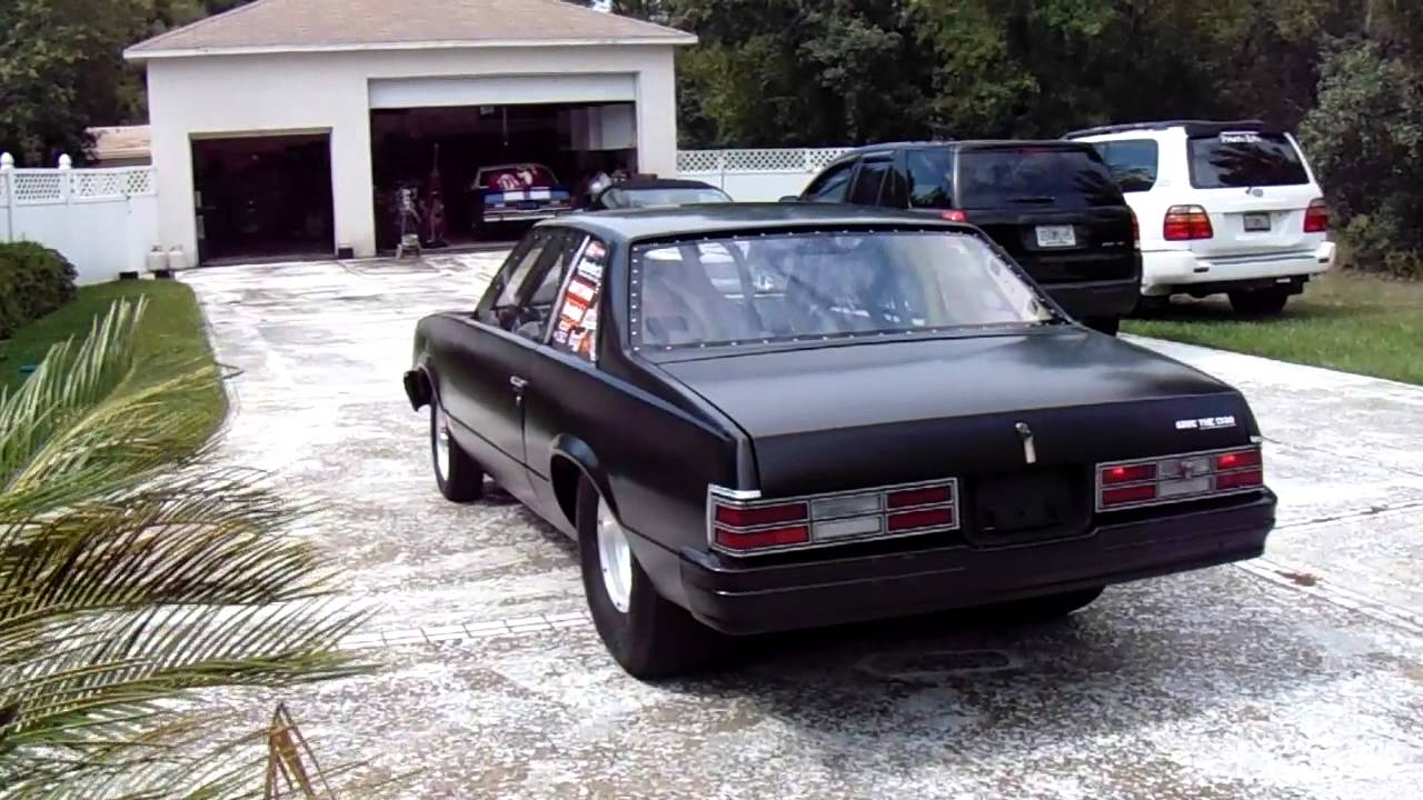 1978 Malibu Pro Street Race Car - YouTube