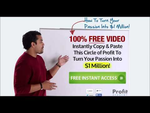 5 Ways to Make Money on the Internet! Profit Academy Anik Singal Free Video Training